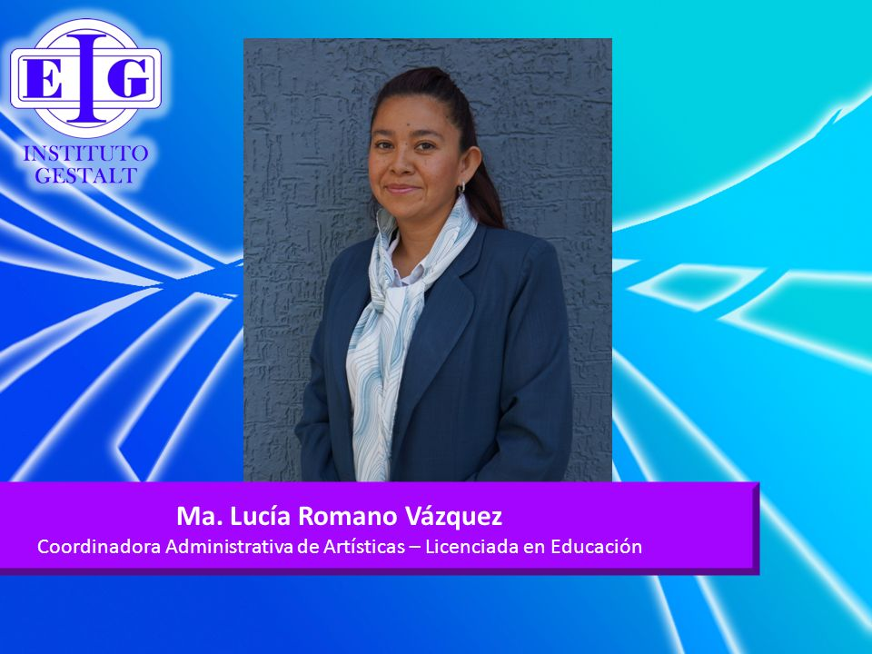 Ma. Lucía Romano Vázquez