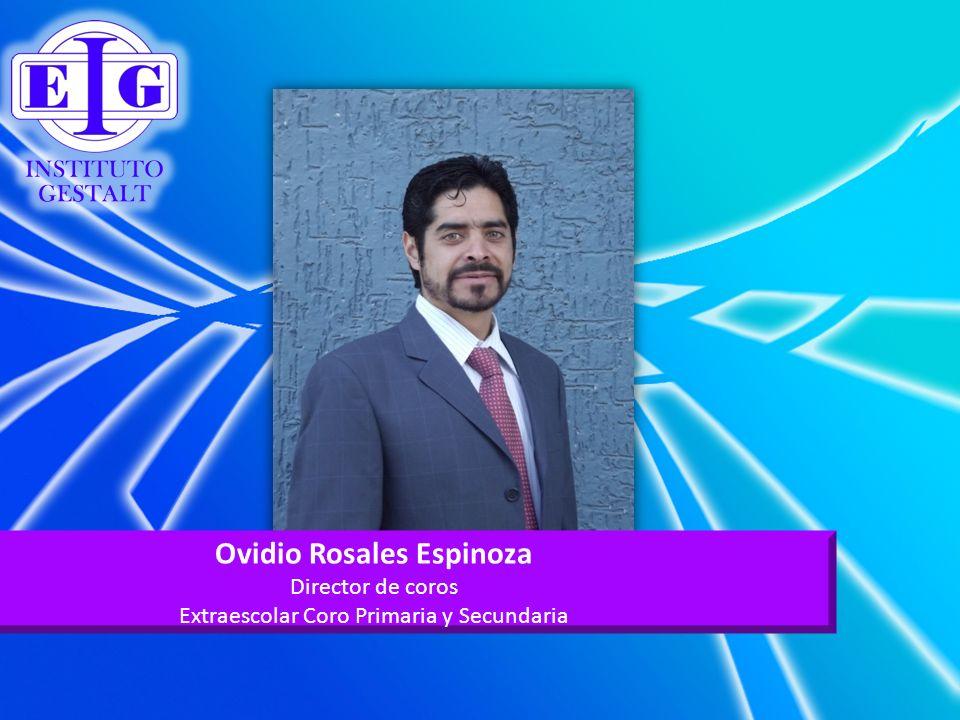 Ovidio Rosales Espinoza