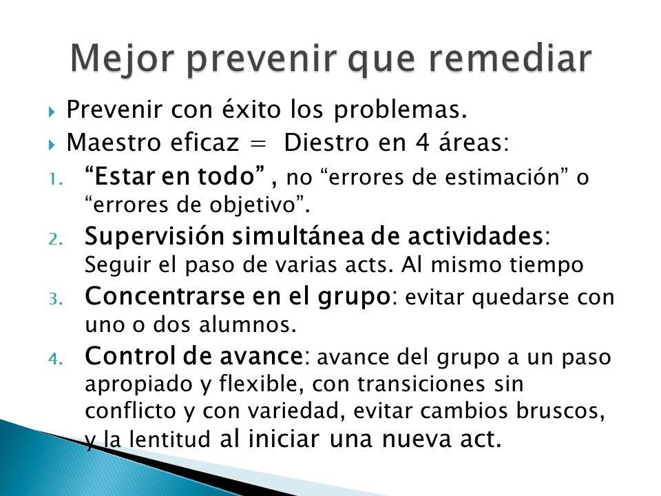 Mejor prevenir que remediar
