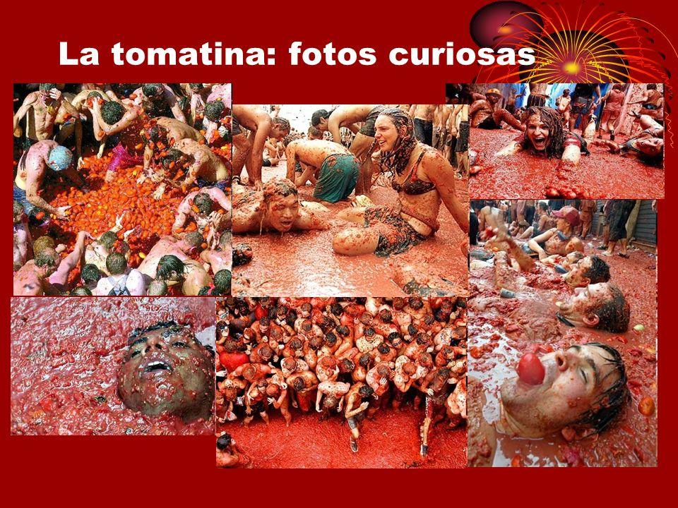 La tomatina: fotos curiosas