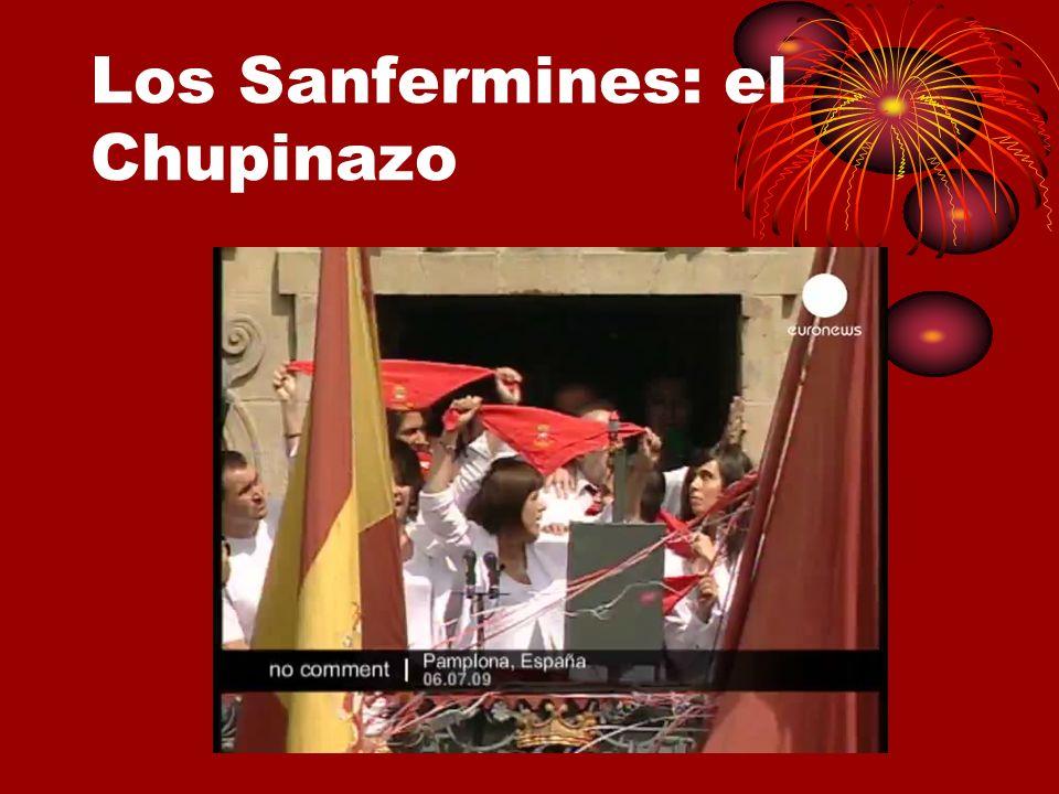 Los Sanfermines: el Chupinazo