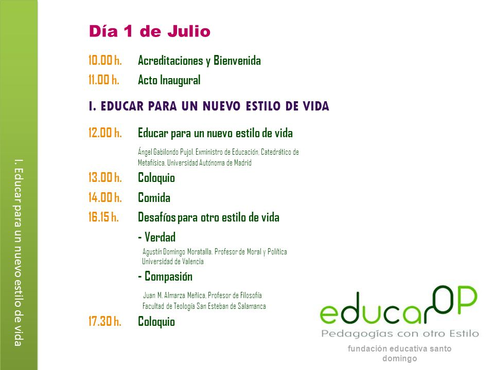 fundación educativa santo domingo