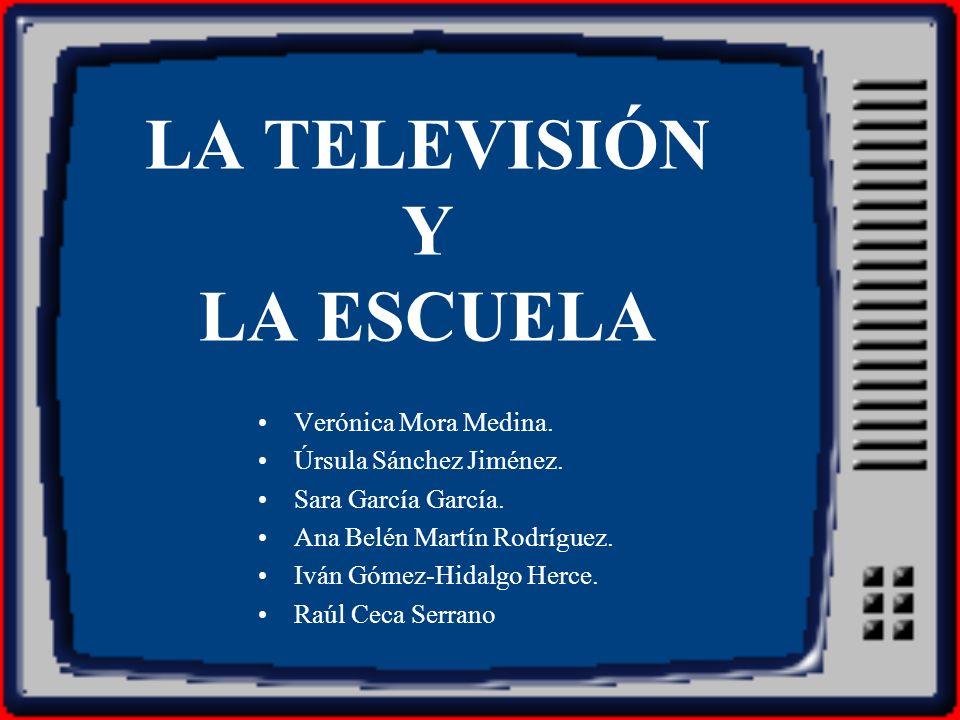 LA TELEVISIÓN Y LA ESCUELA