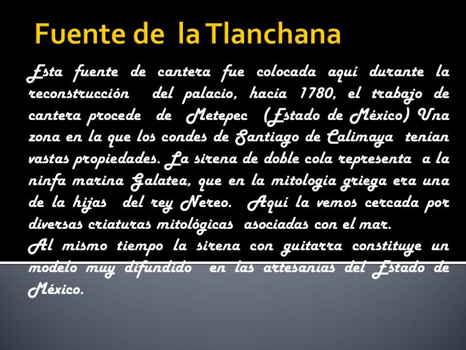 Fuente de la Tlanchana