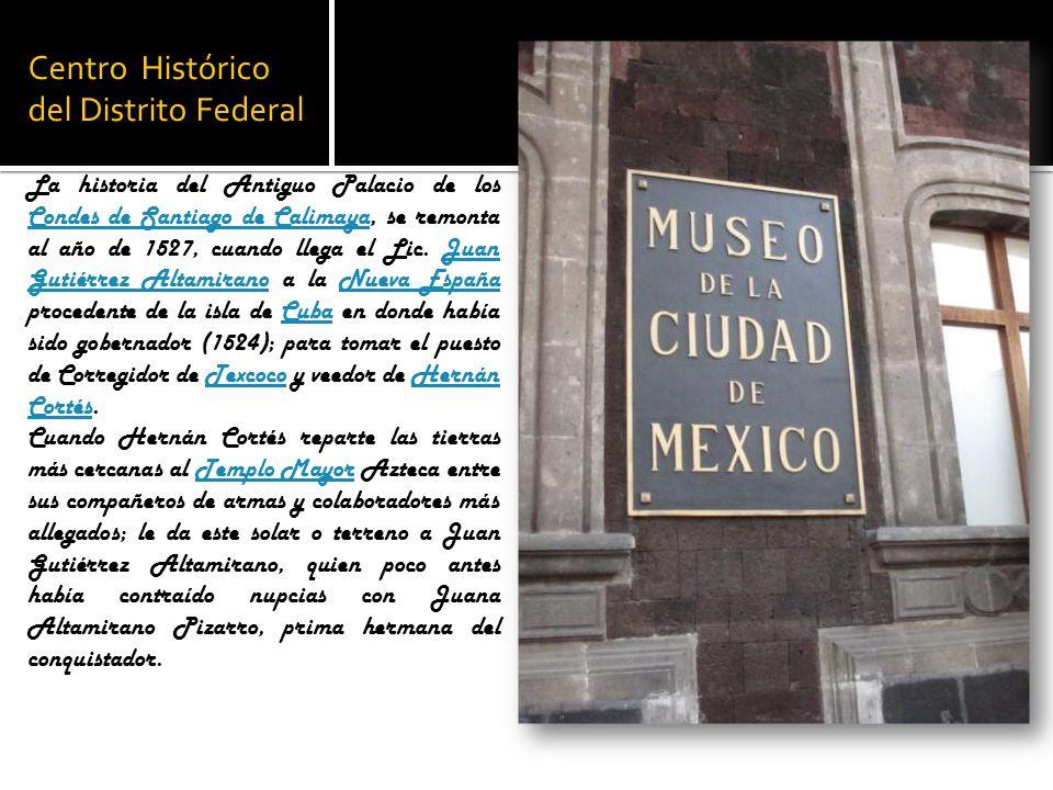 Centro Histórico del Distrito Federal
