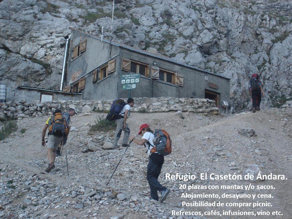 Refugio El Casetón de Ándara.