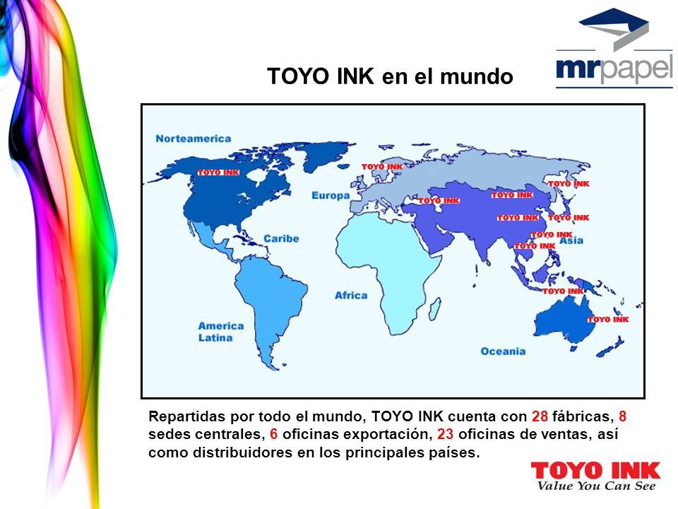 TOYO INK en el mundo
