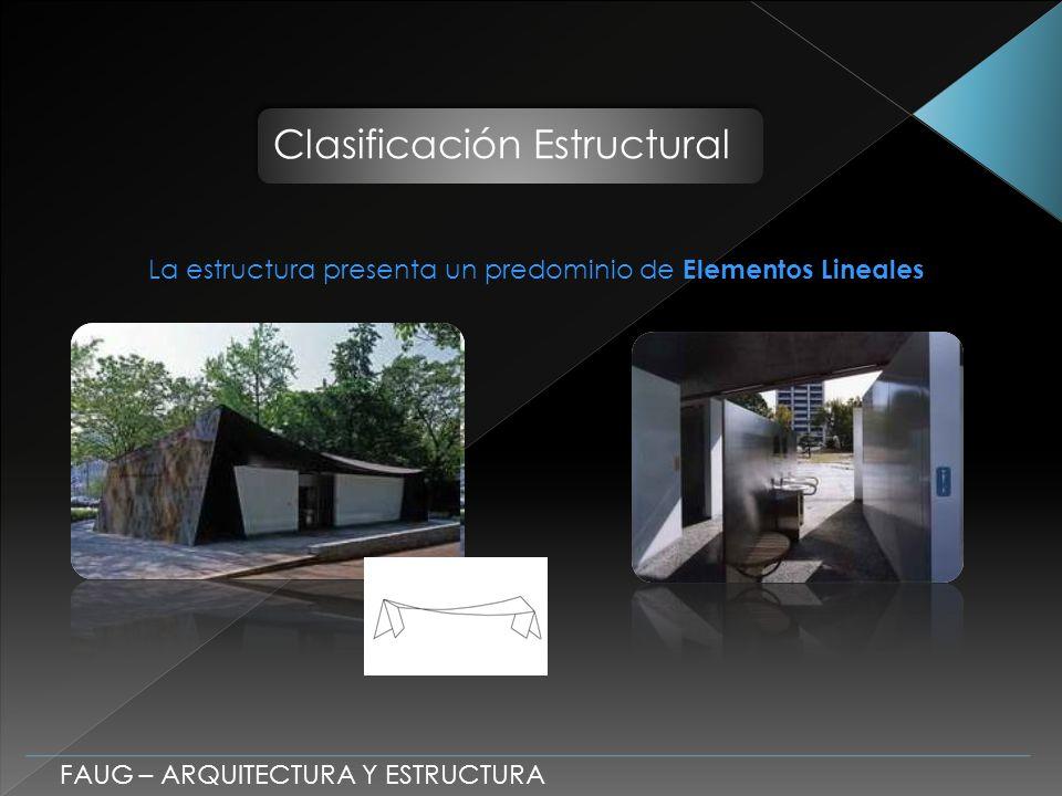 Clasificación Estructural