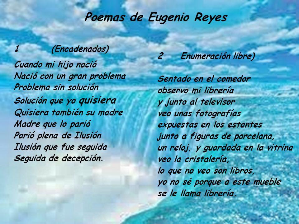 Poemas de Eugenio Reyes