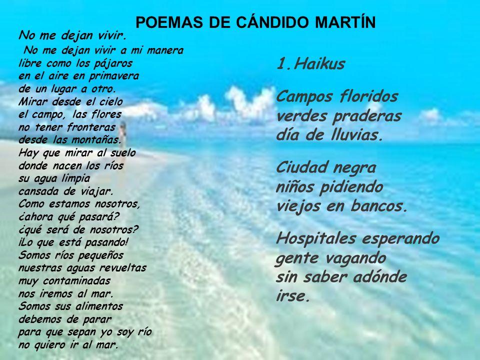 POEMAS DE CÁNDIDO MARTÍN