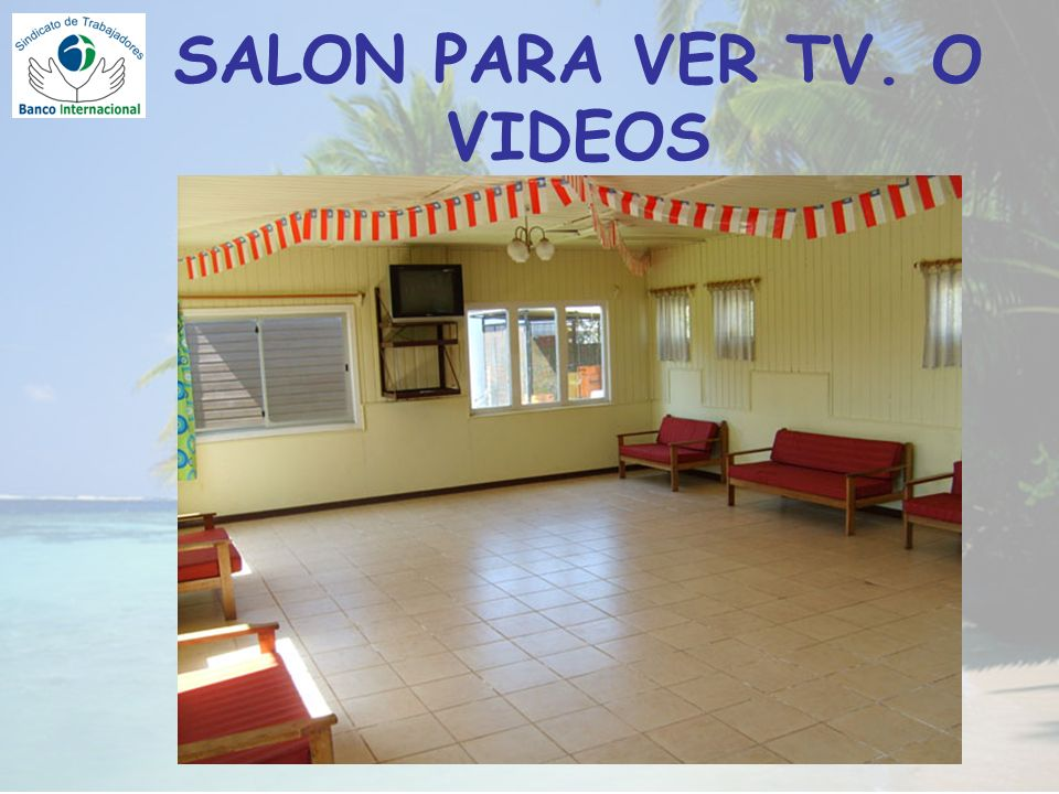 SALON PARA VER TV. O VIDEOS