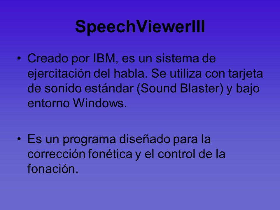 SpeechViewerIII