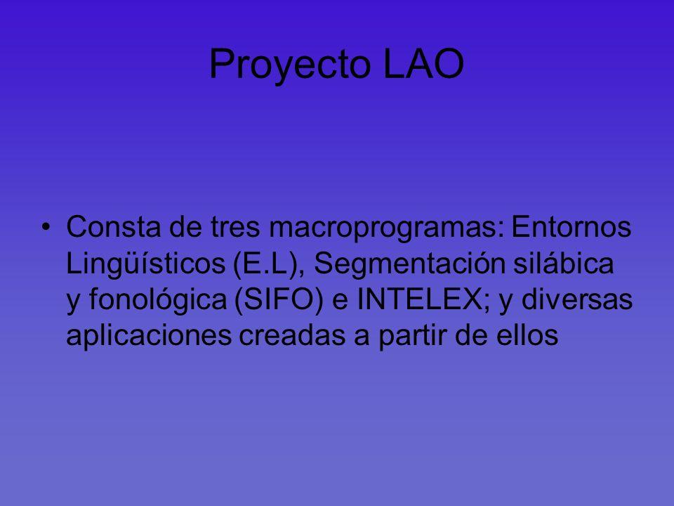 Proyecto LAO