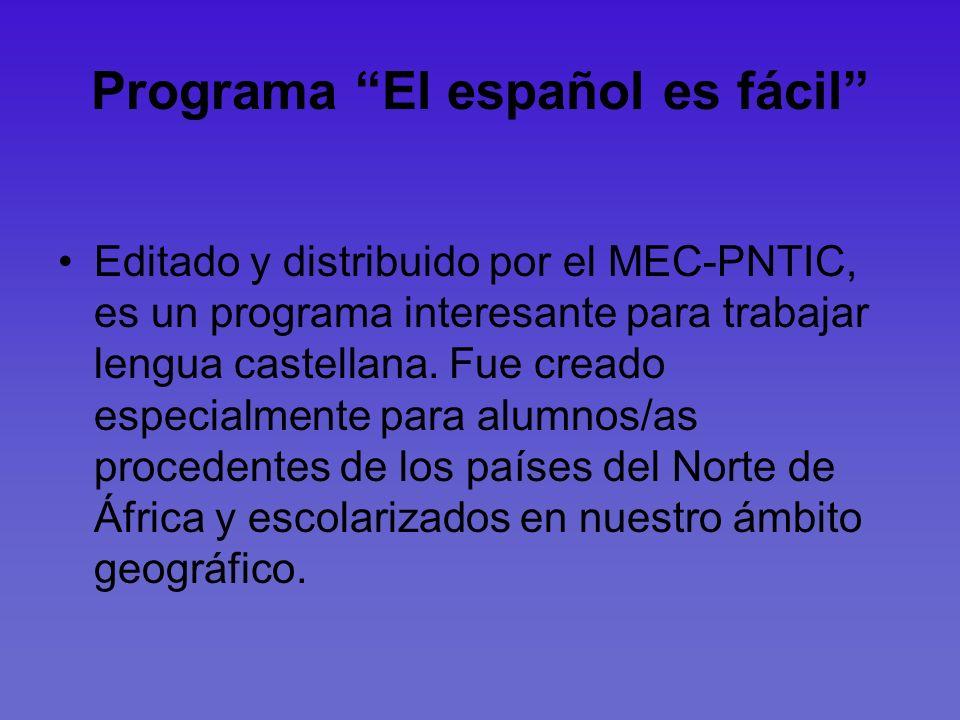 Programa El español es fácil