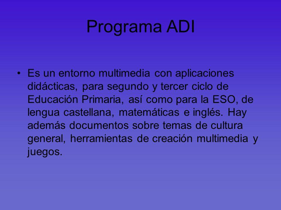 Programa ADI