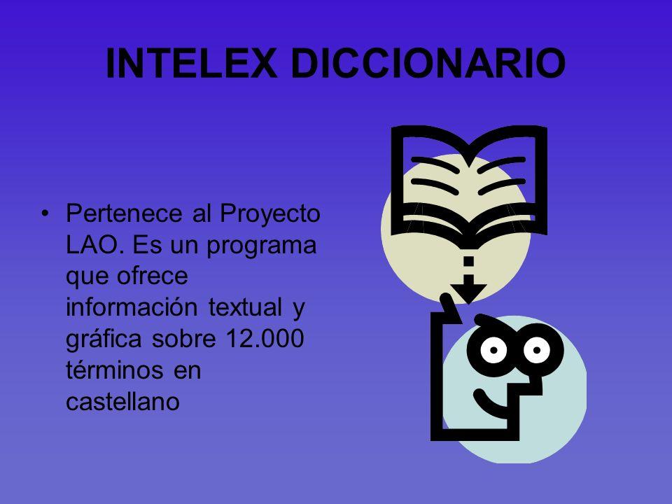 INTELEX DICCIONARIO Pertenece al Proyecto LAO.