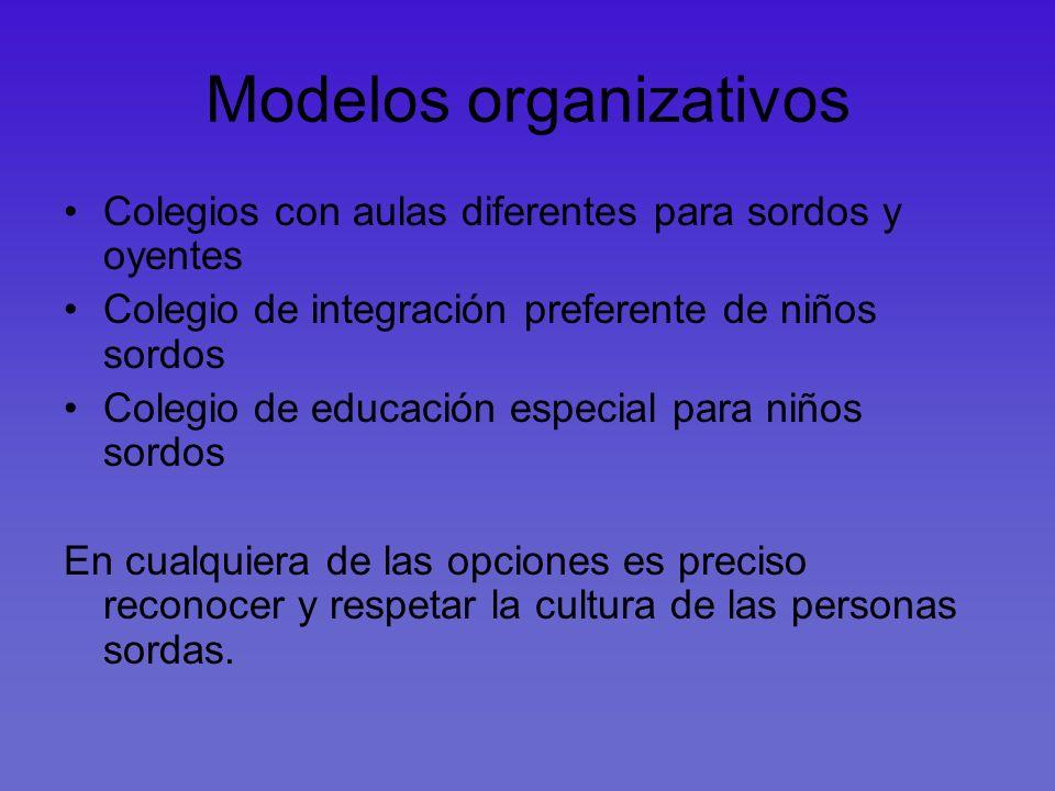 Modelos organizativos
