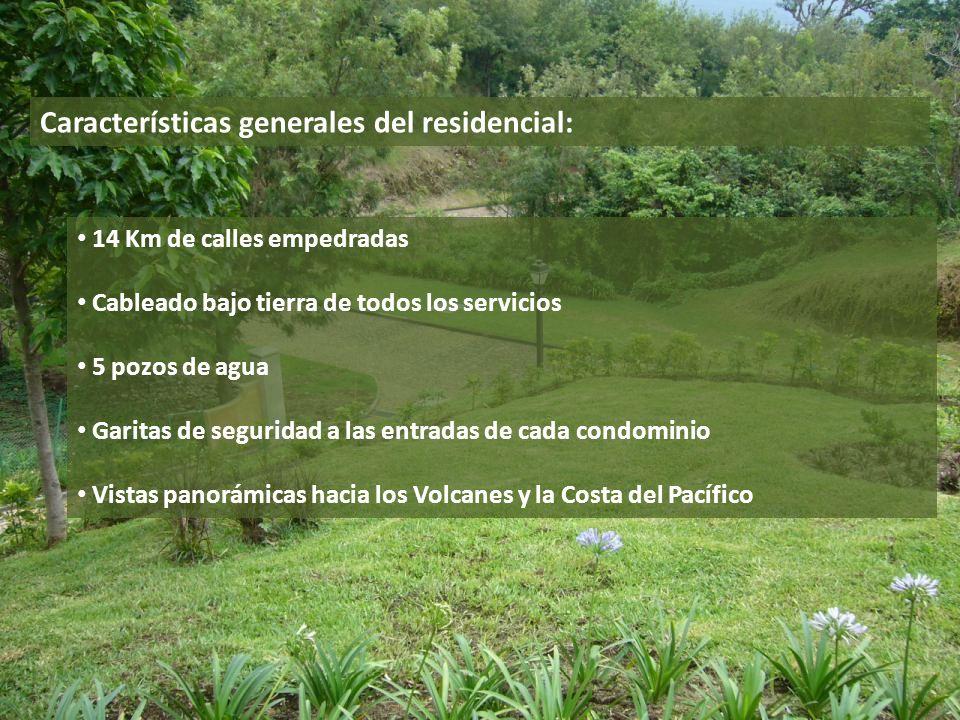 Características generales del residencial: