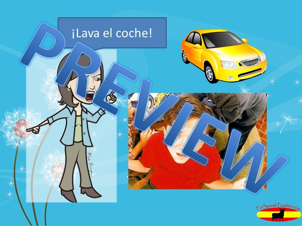 ¡Lava el coche! PREVIEW