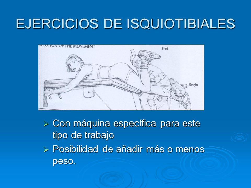 EJERCICIOS DE ISQUIOTIBIALES