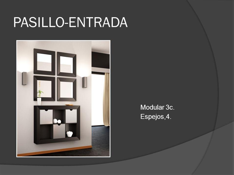 PASILLO-ENTRADA Modular 3c. Espejos,4.