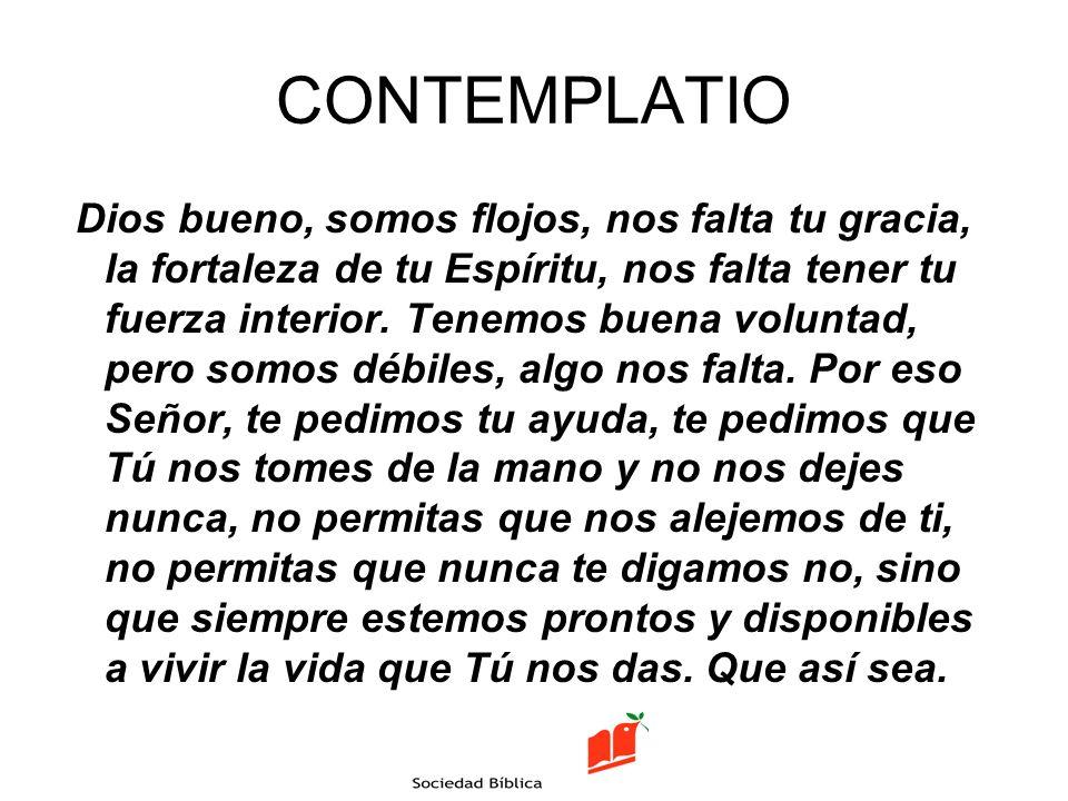 CONTEMPLATIO