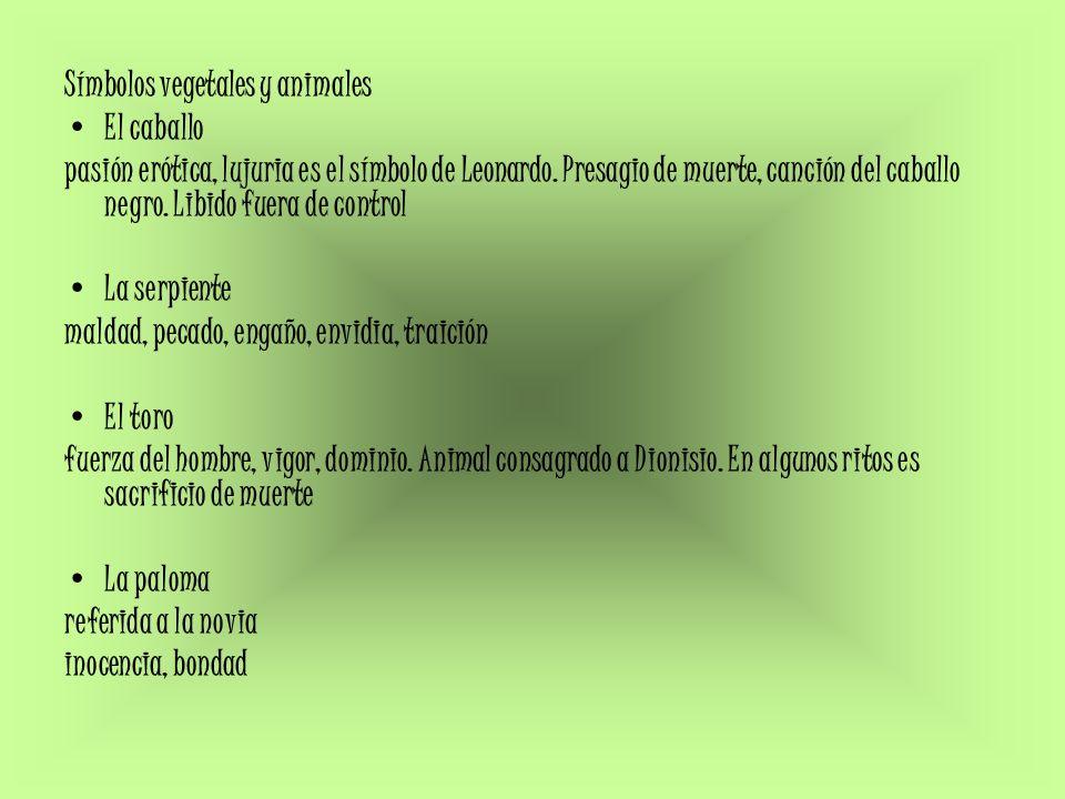 Símbolos vegetales y animales