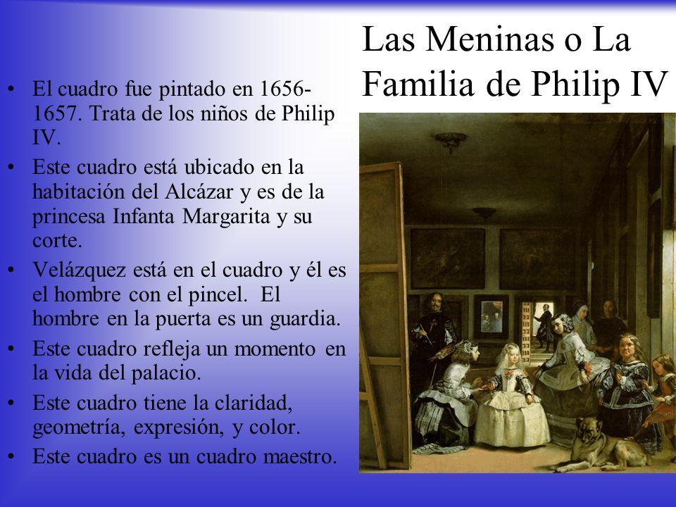 Las Meninas o La Familia de Philip IV
