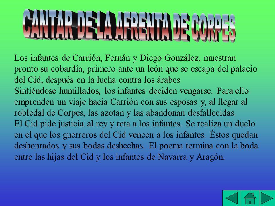 CANTAR DE LA AFRENTA DE CORPES