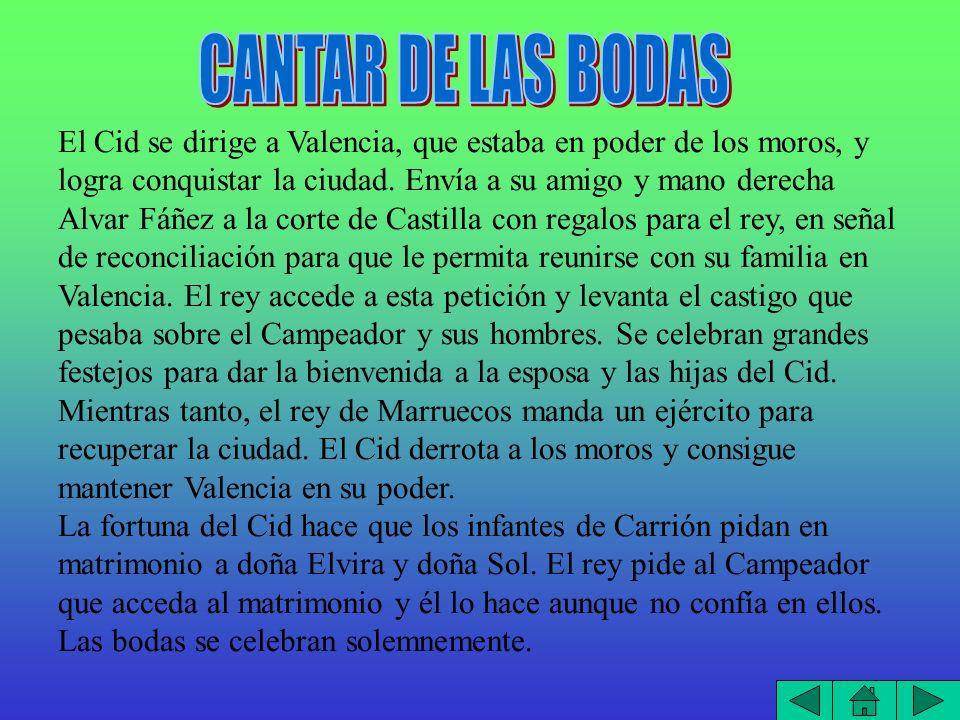 CANTAR DE LAS BODAS