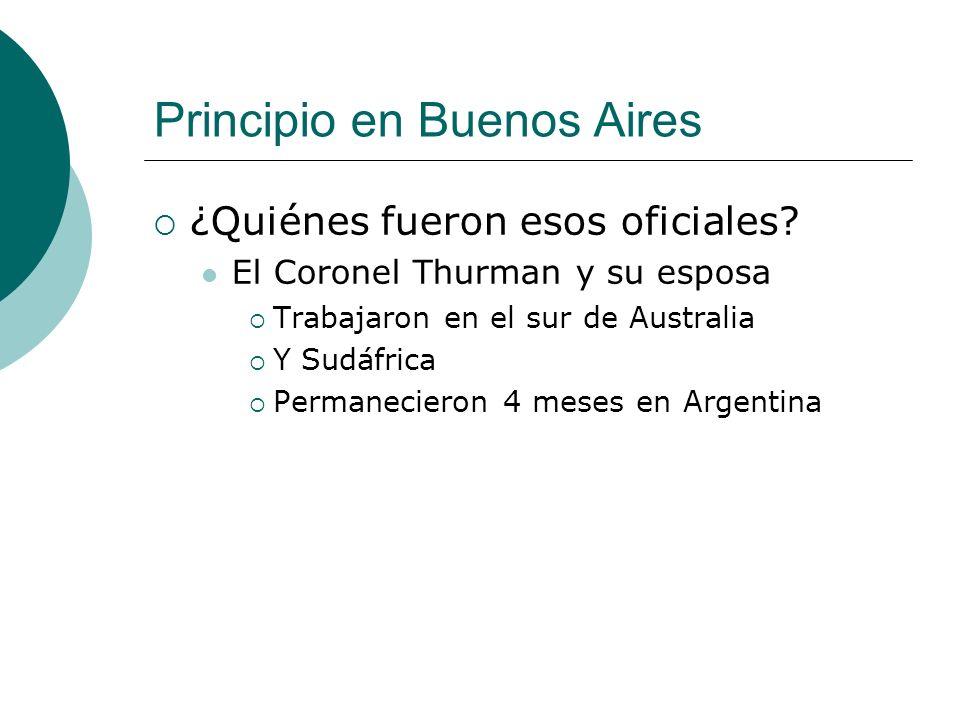 Principio en Buenos Aires