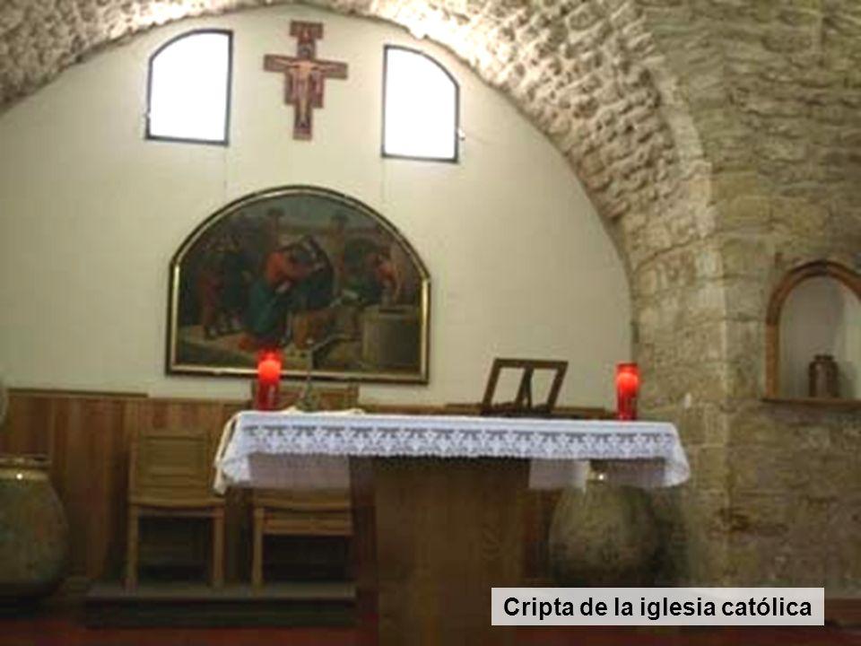 Cripta de la iglesia católica