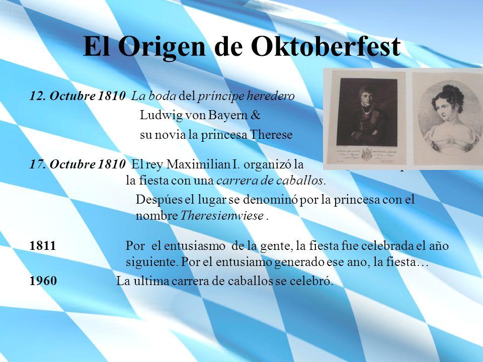 El Origen de Oktoberfest