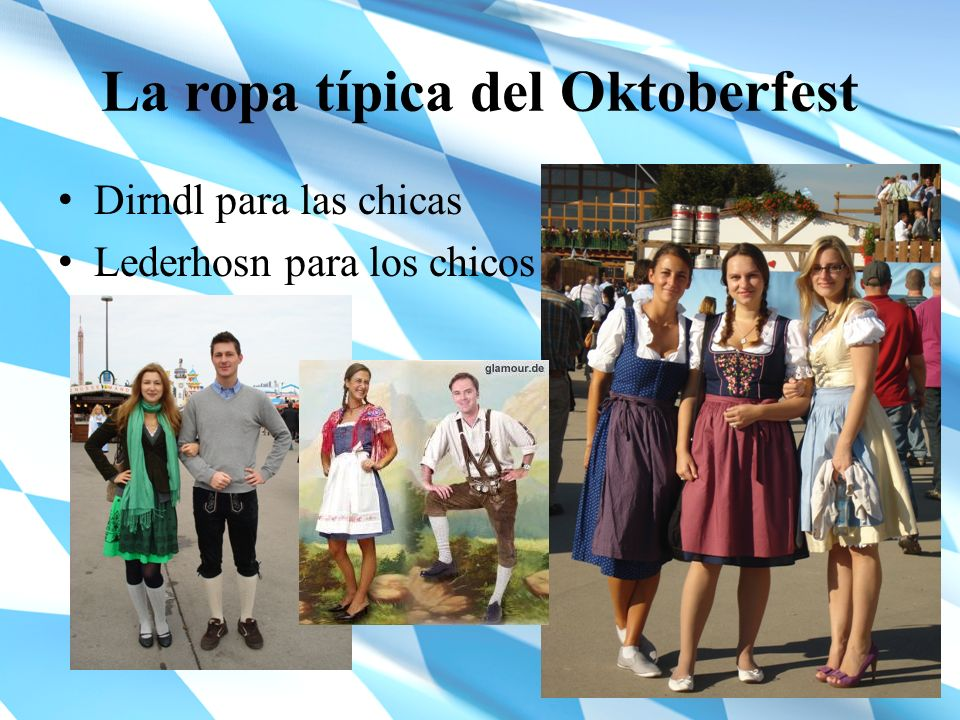 La ropa típica del Oktoberfest