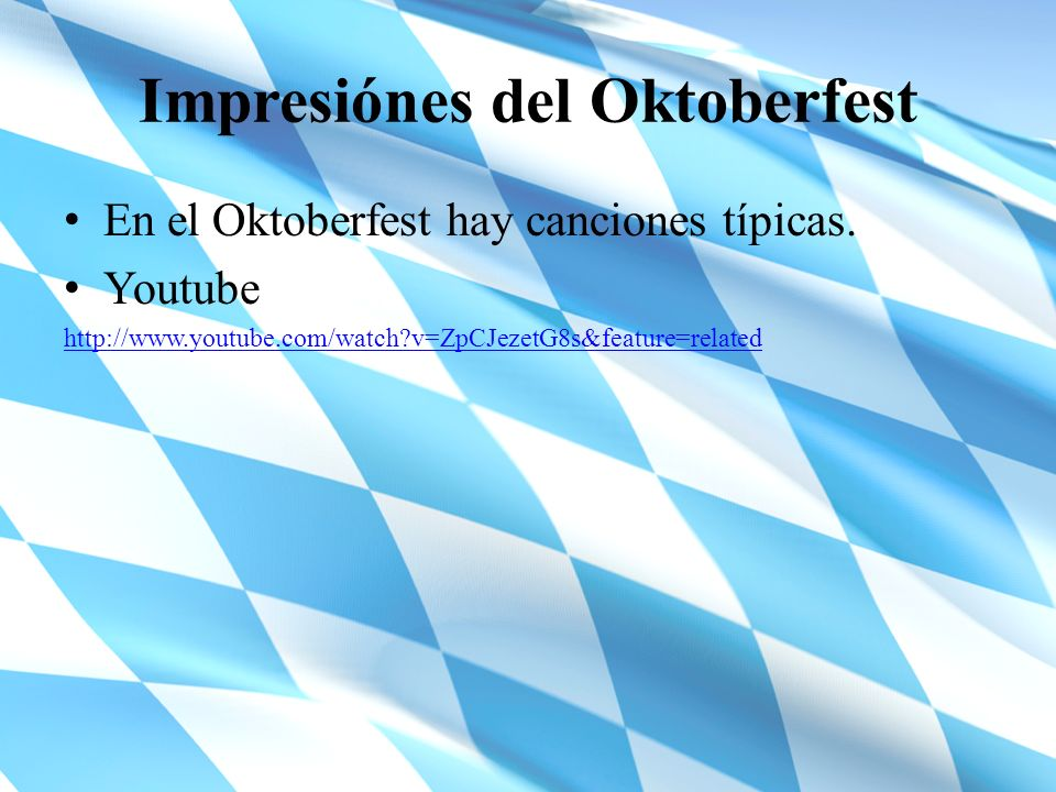 Impresiónes del Oktoberfest