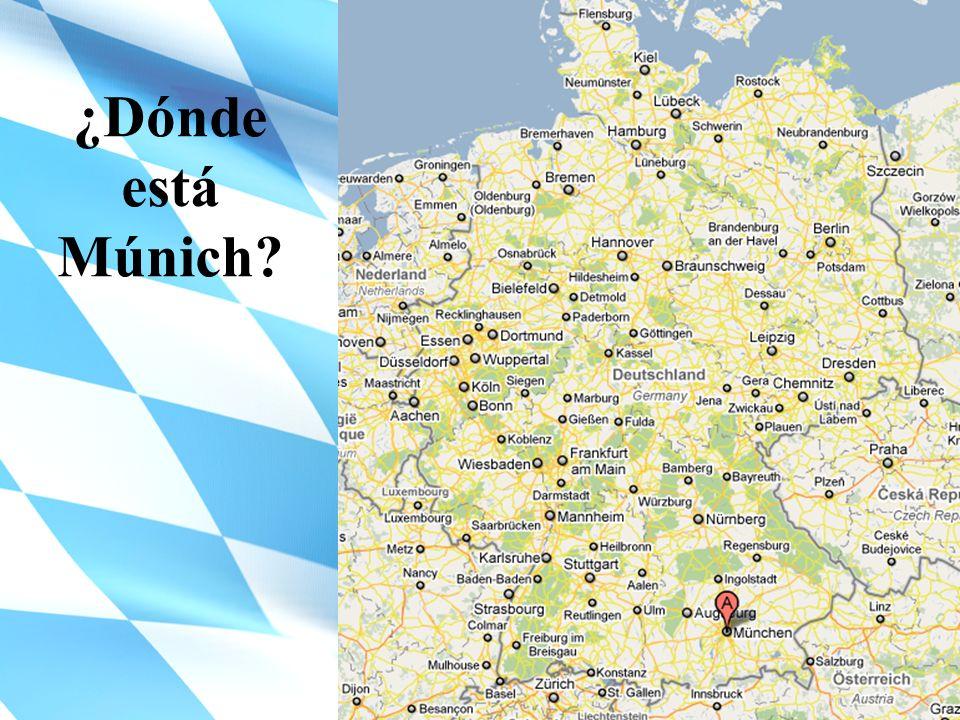 ¿Dónde está Múnich