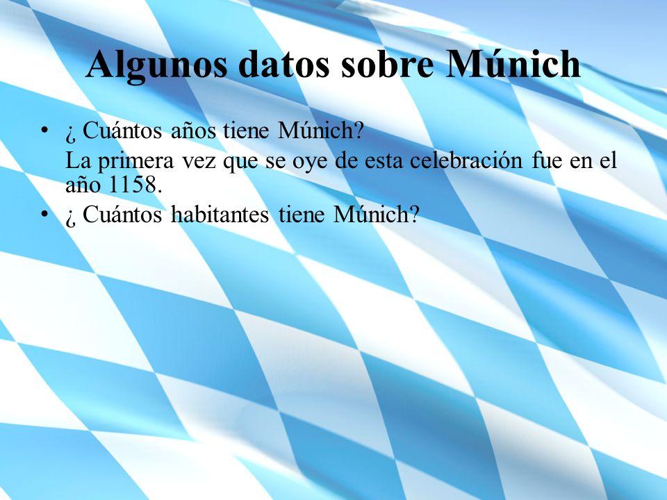 Algunos datos sobre Múnich
