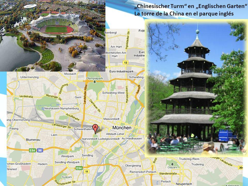 """""""Chinesischer Turm en """"Englischen Garten"""
