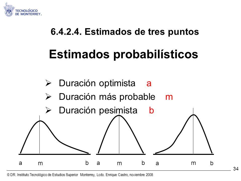 Estimados probabilísticos