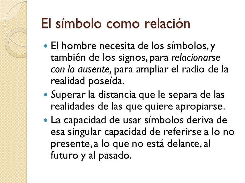 El símbolo como relación