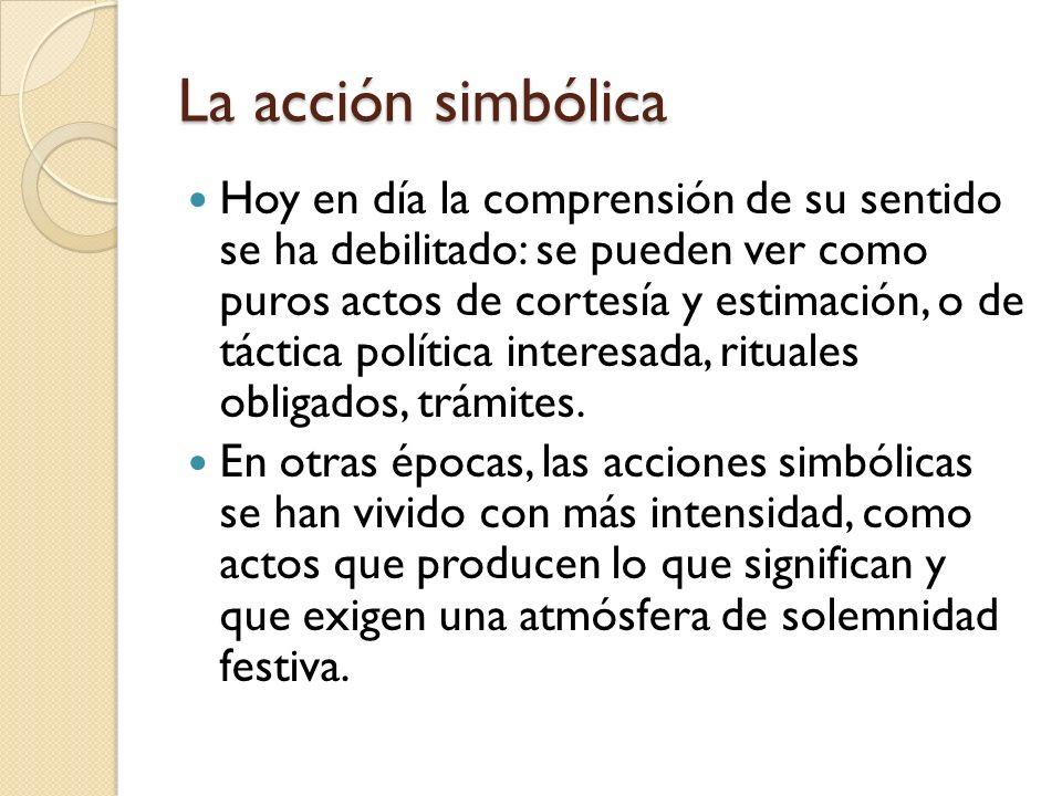 La acción simbólica