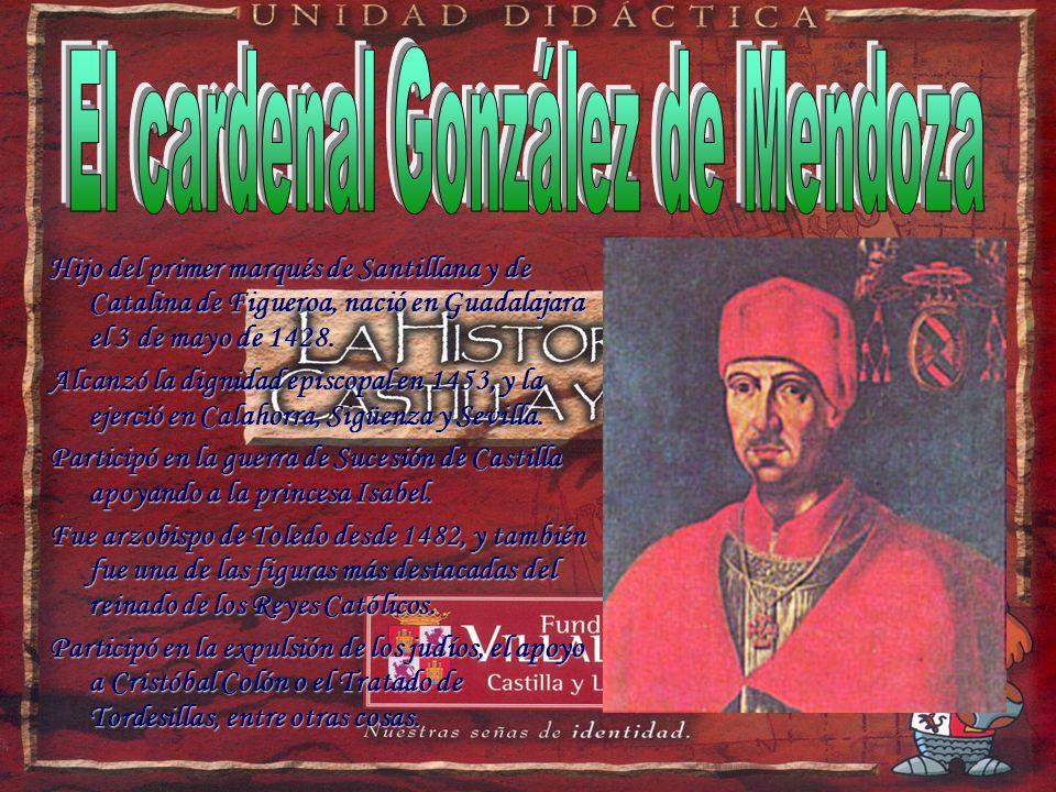 El cardenal González de Mendoza