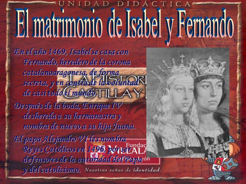 El matrimonio de Isabel y Fernando