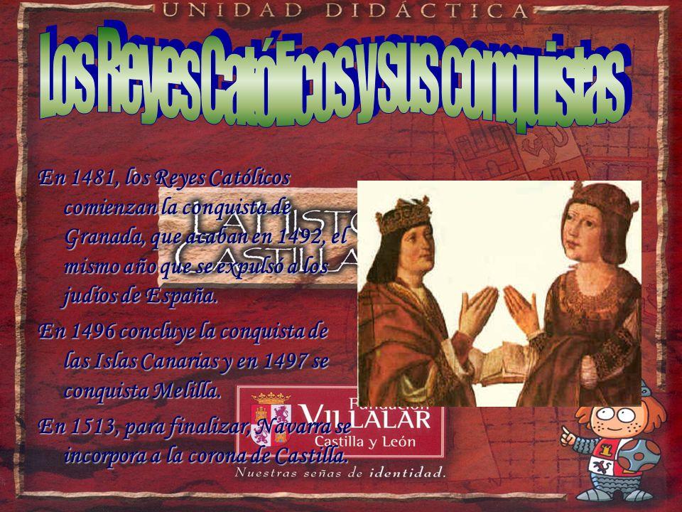 Los Reyes Católicos y sus conquistas