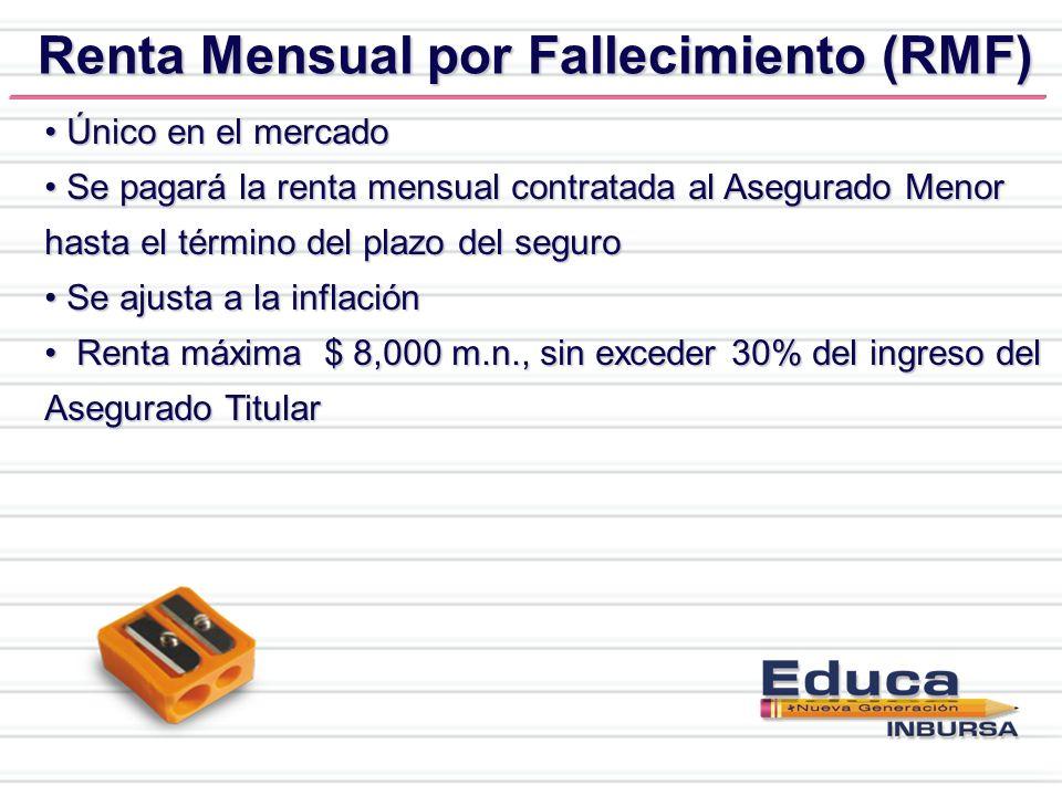 Renta Mensual por Fallecimiento (RMF)