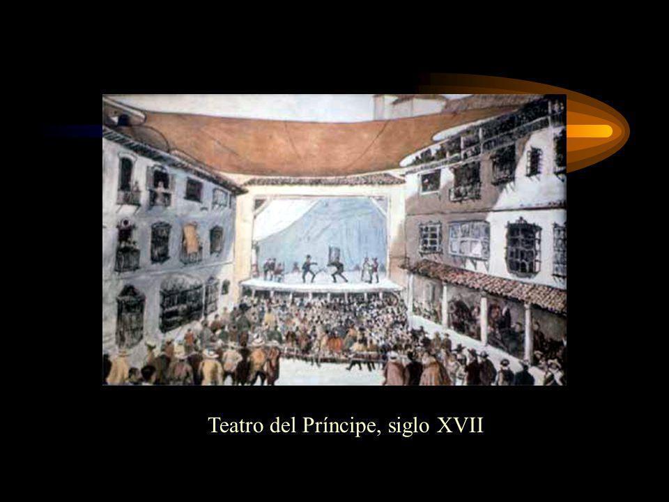 Teatro del Príncipe, siglo XVII