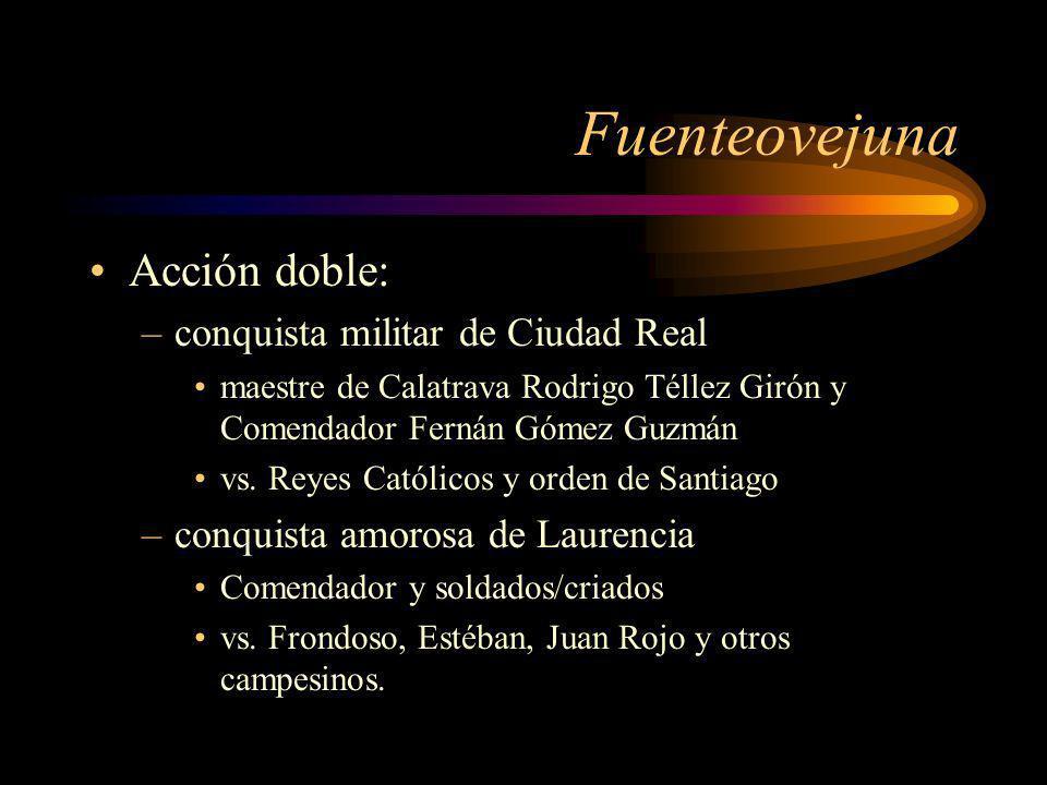 Fuenteovejuna Acción doble: conquista militar de Ciudad Real