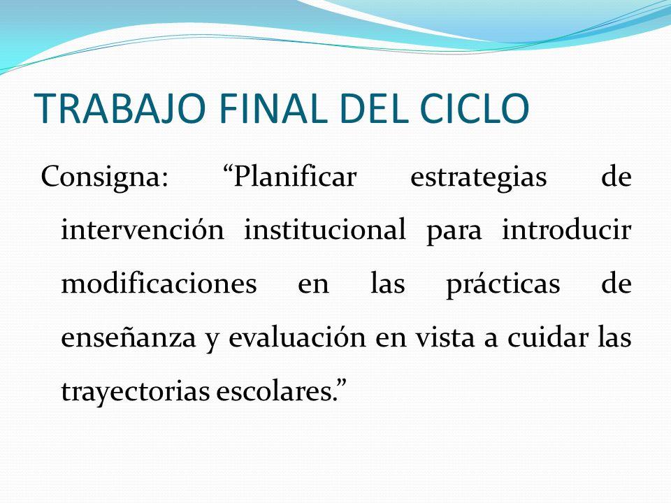 TRABAJO FINAL DEL CICLO
