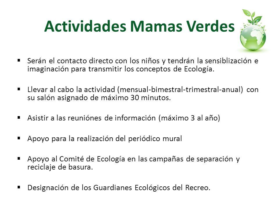Actividades Mamas Verdes
