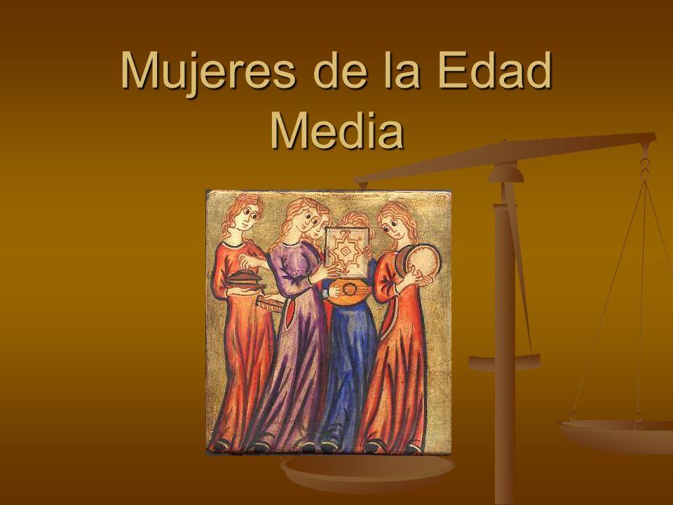 Mujeres de la Edad Media